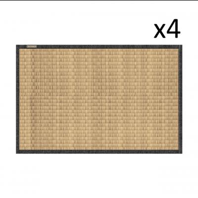 Vinyl-Tischset Tatami 4er-Set