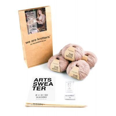DIY Kit Arts Sweater | Spotted Mauve