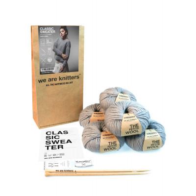 DIY Kit Classic Sweater | Grey