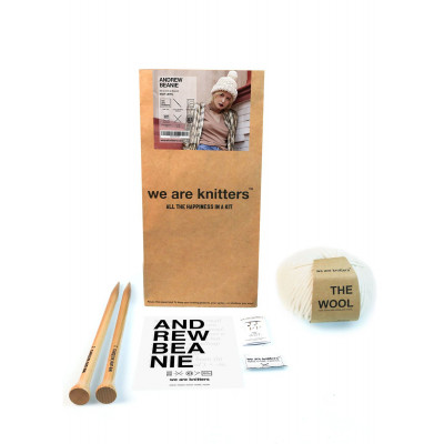 DIY Kit Andrew Beanie | Natural