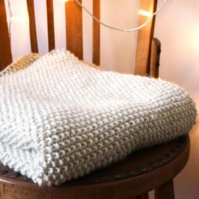 DIY Kit No. 3 Blanket | Natural