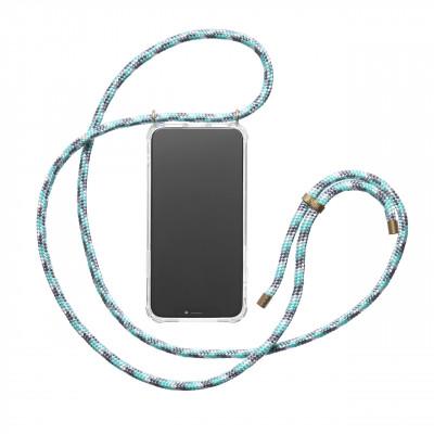 iPhone-Hülle KNOK | Mint Camo Blau