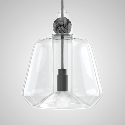 Knot Lamp Large Grey