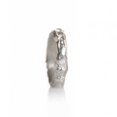 Knöchelring Silber   Breit