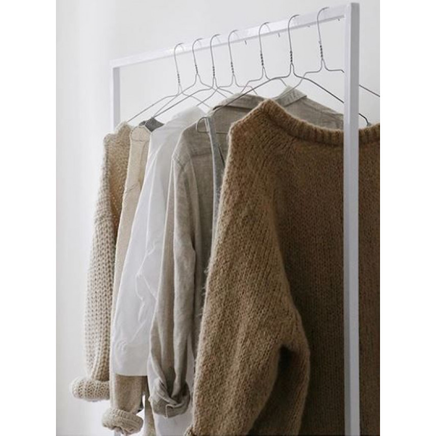 Clothes Rack White | Large