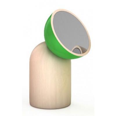 Kokeshi Kleiner Runder Spiegel Grün