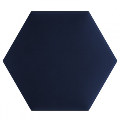 3er-Set Polsterpaneele Thais   Kobaltblau