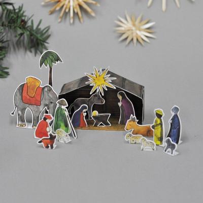 Christmas Nativity Scene   DIY Christmas Figures