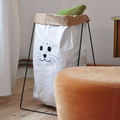 Paper Bag Holder   Black