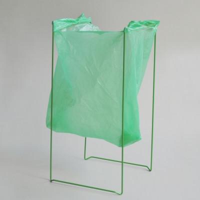 Plastic Bag Holder   Green