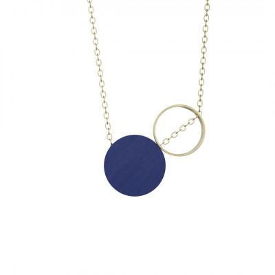 Halskette Komparativ | Königsblau & Gold