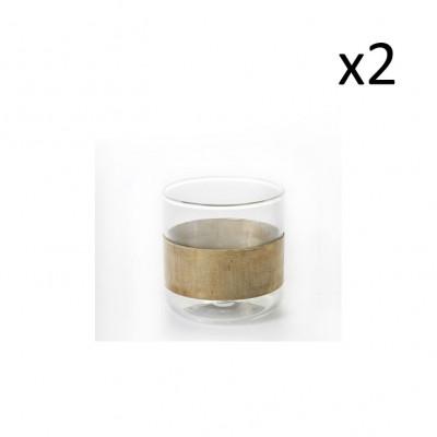 Glas Kupfer | 2er-Set