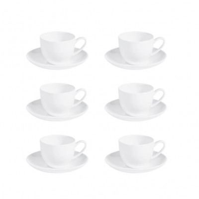 Anna Coffee Cups with Saucer Ø 5.5 cm   Set of 6