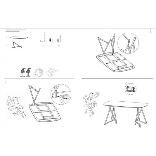 Tisch Koza | Eiche-Klein