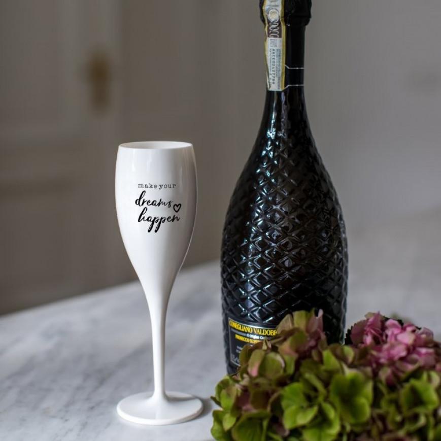 Champagnergläser Dreams Happen   6er-Set