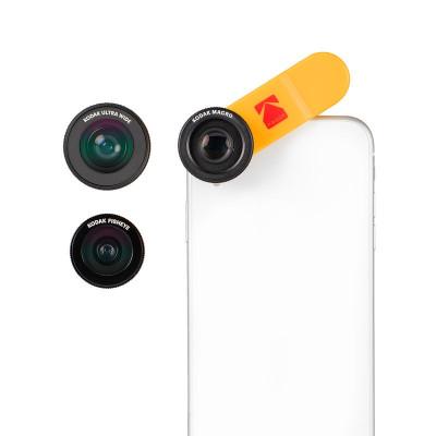 Smartphone 3-in-1 Lens Set | Ultra Wide + Macro + Fisheye