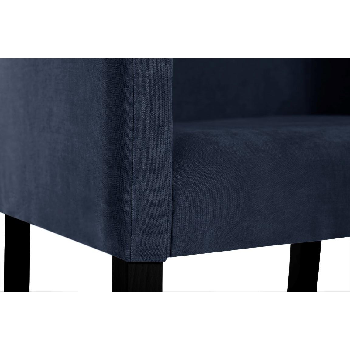Esszimmerstuhl Illusion  | Marineblau