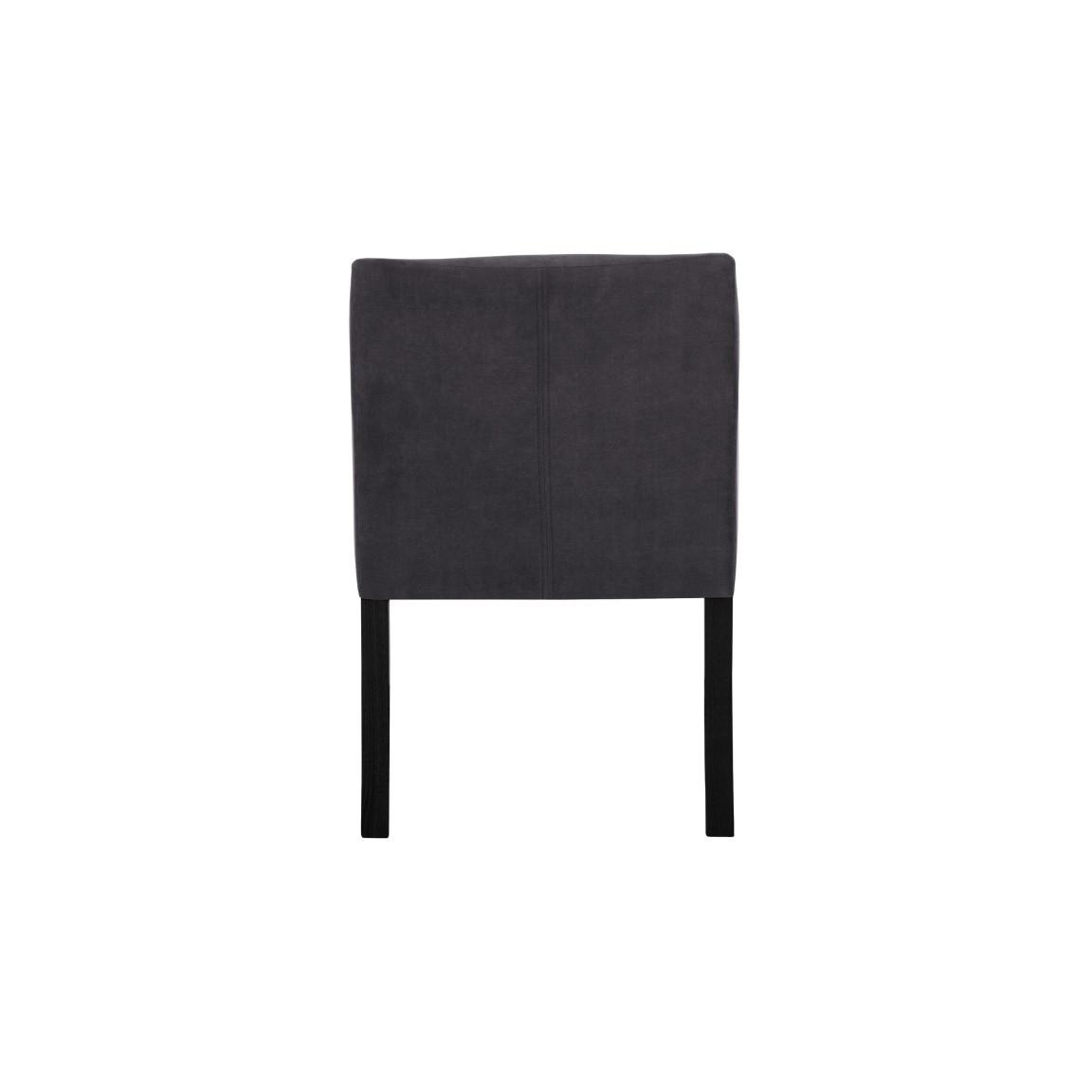 2er-Set Esszimmerstühlen Illusion | Anthrazit