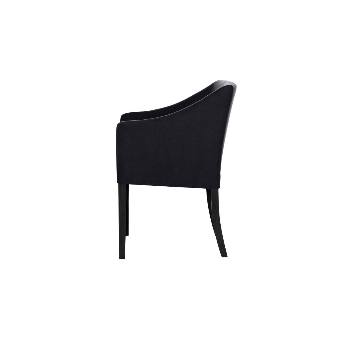 2er-Set Esszimmerstühlen Illusion | Schwarz