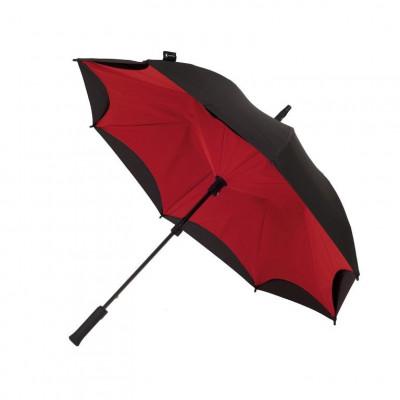 Red & Black Umbrella    Straight