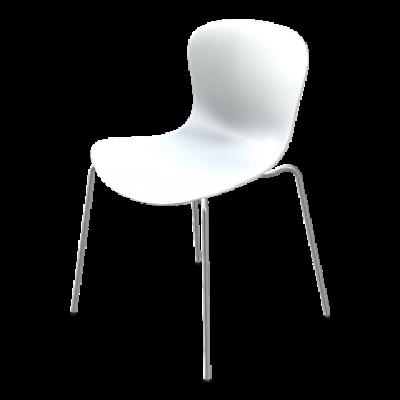 Chair NAP kS50 | Milk White