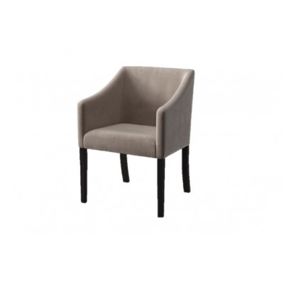 Dining Chair Illusion Velvet | Beige