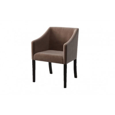 Dining Chair Illusion Velvet | Taupe