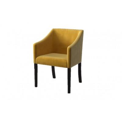 Dining Chair Illusion Velvet | Yellow
