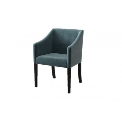 Dining Chair Illusion Velvet | Grey Green