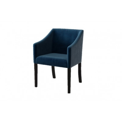 Dining Chair Illusion Velvet | Navy Blue