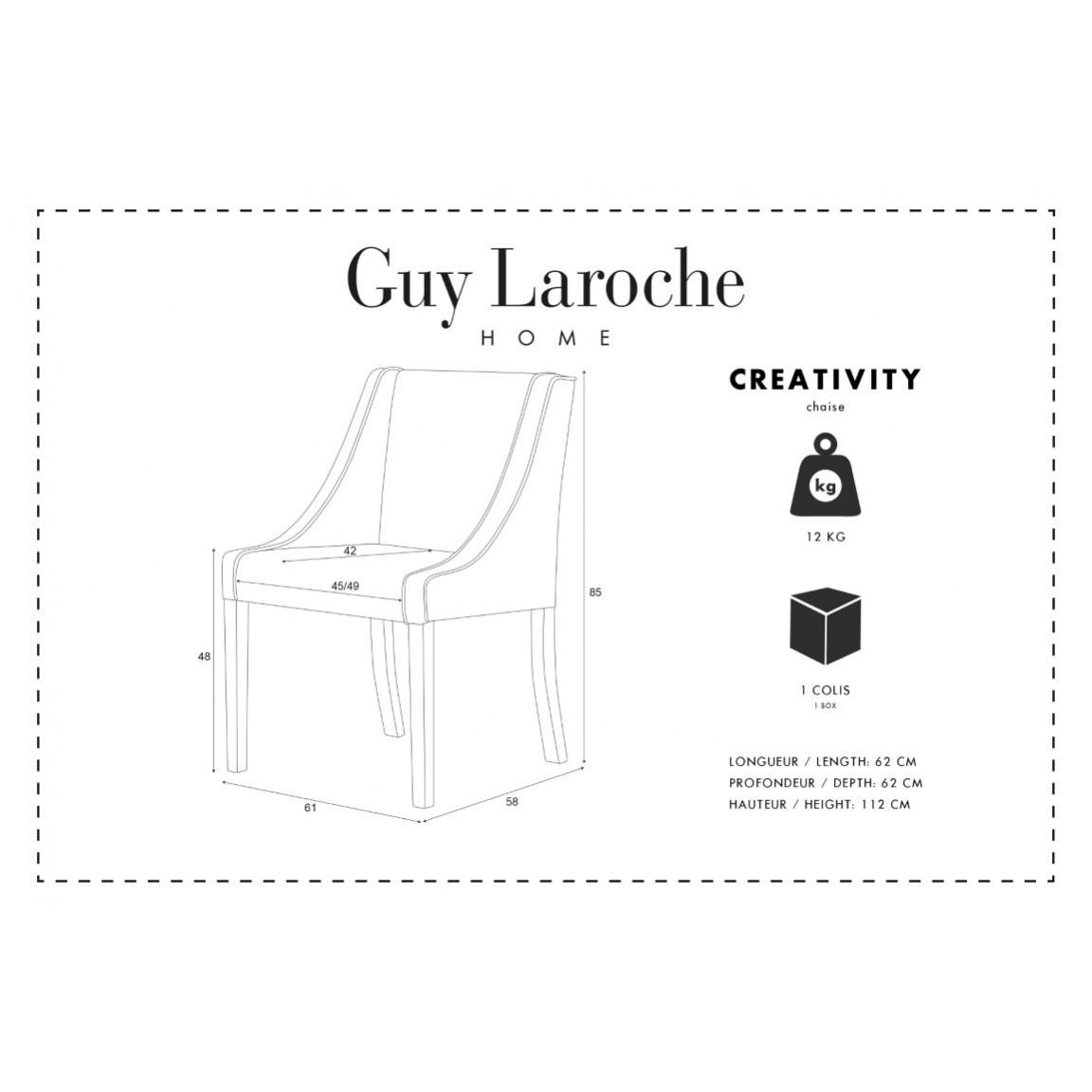 Esszimmerstuhl Creativity | Warmes Weiß
