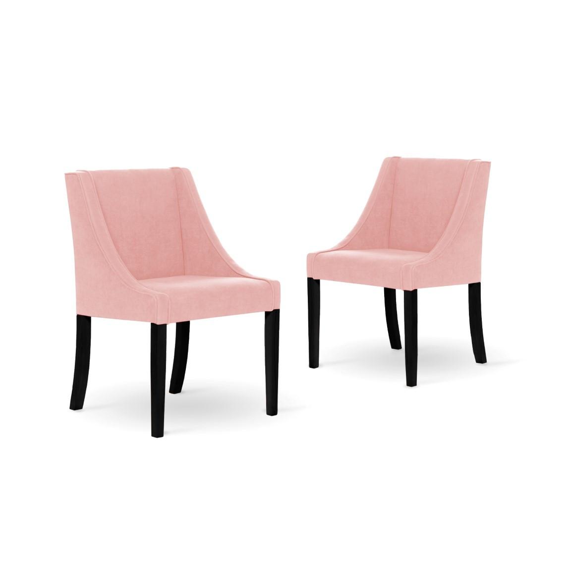 2er-Set Esszimmerstühlen Creativity | Rosa