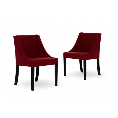 2er-Set Esszimmerstühlen Creativity | Rot