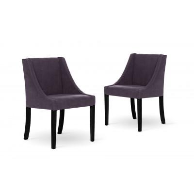 2er-Set Esszimmerstühlen Creativity | Lavendel