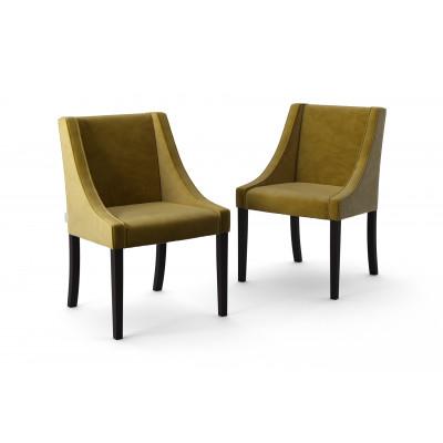 2-er Set Esszimmerstühle Creativity Velvet | Olivgrün