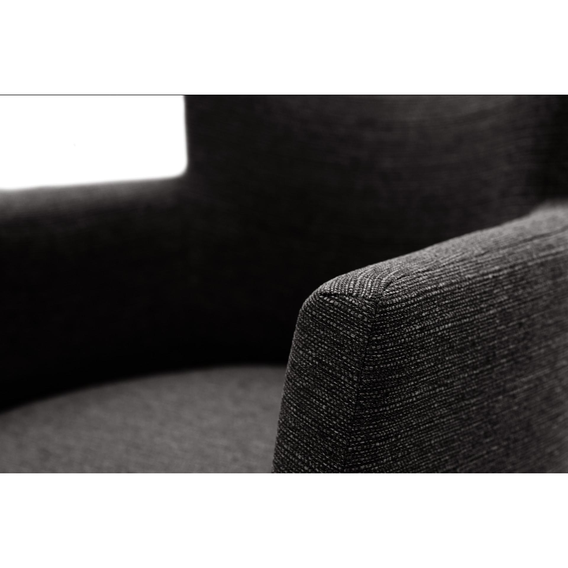Chaises Billie Set de 2 | Gris Profond