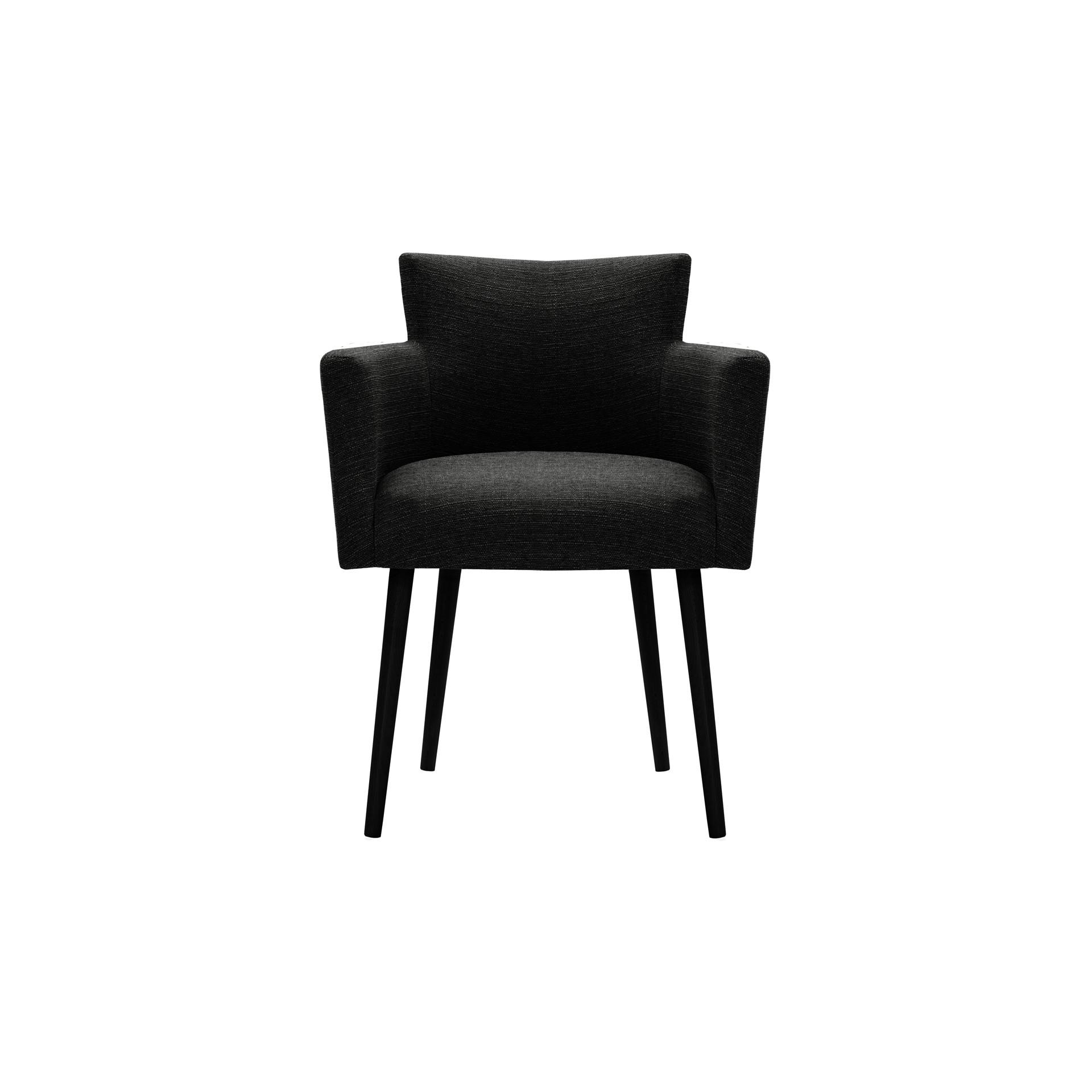 Chaises Billie Set de 4 | Noir