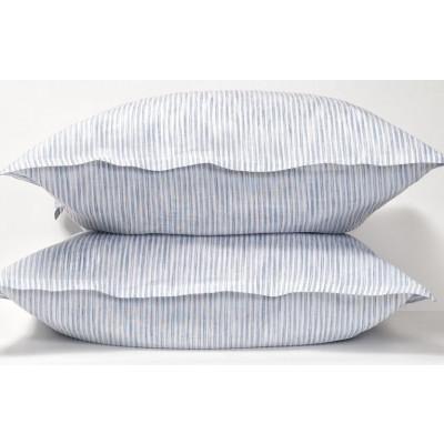 Pillow Case White/Blue