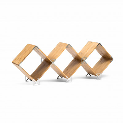 Kubik Modulares Zusatzregal | Stahl