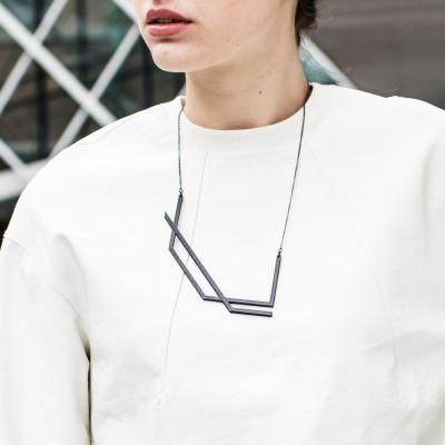 KURO 1 Necklace   Black collection