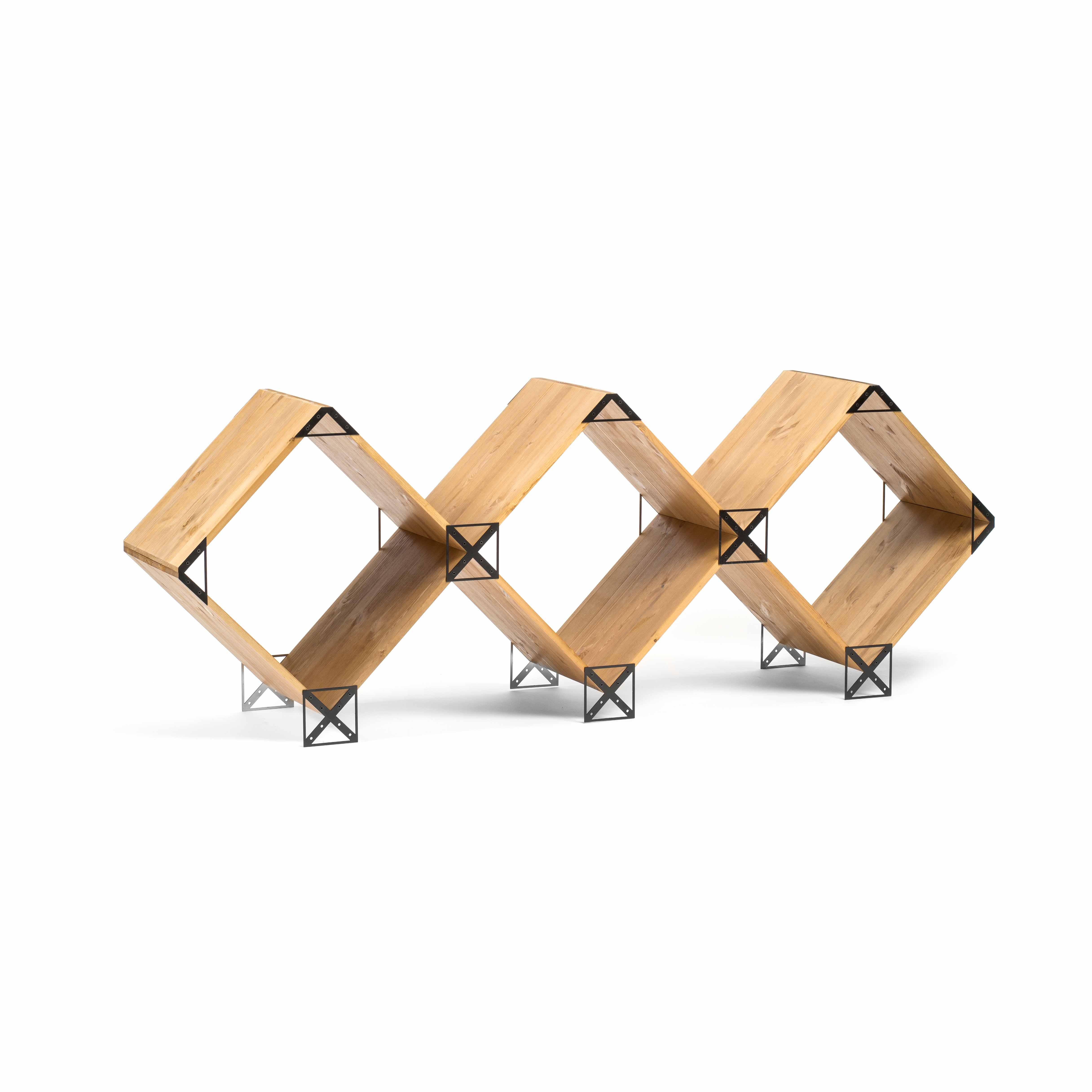 Kubik Modulares Zusatzregal | Schwarz
