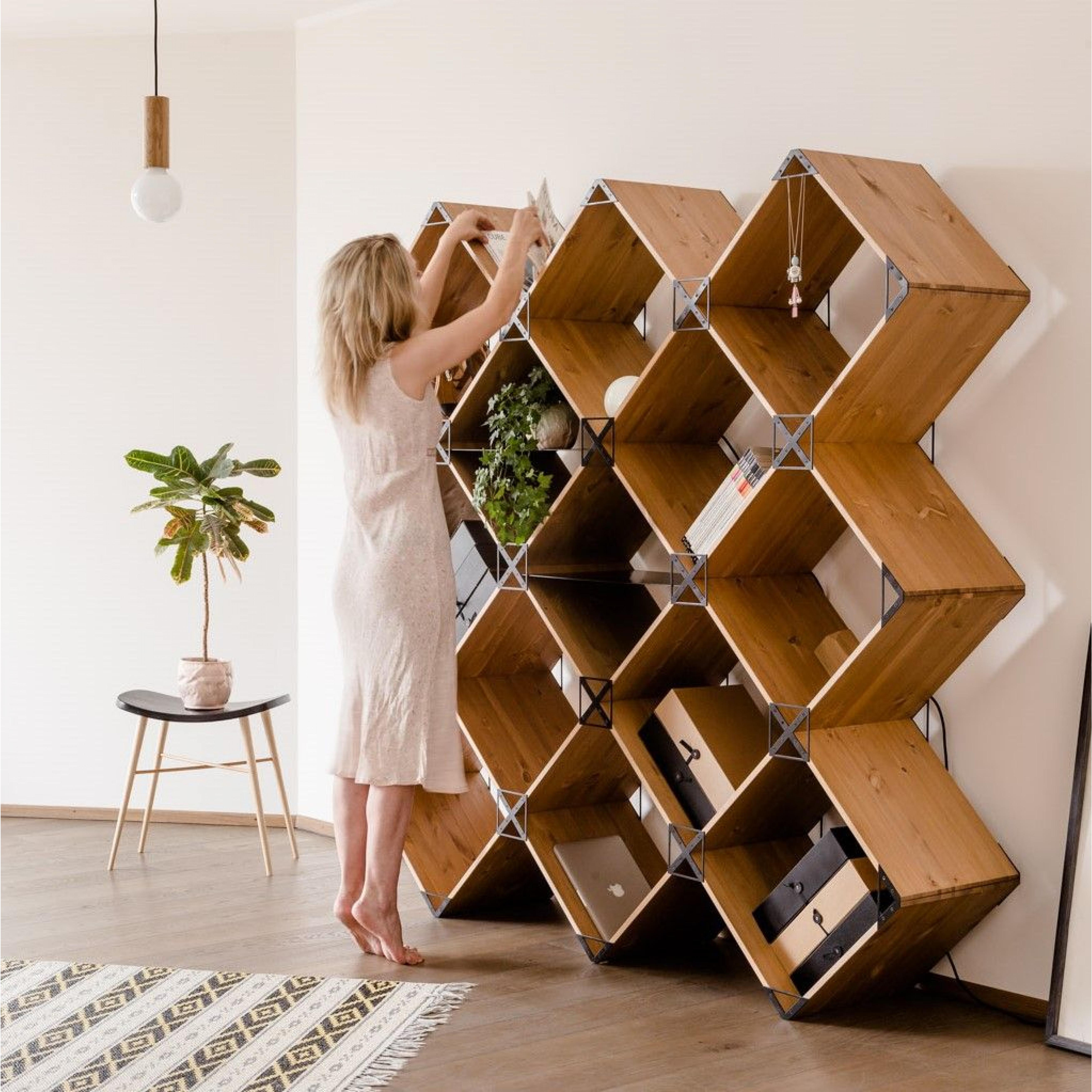 Kubik Modular Shelf | Black