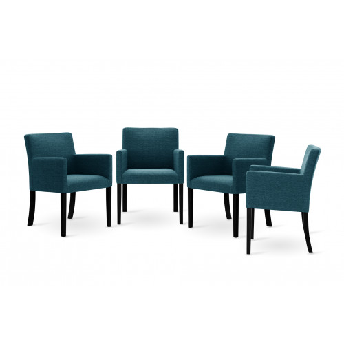 Set de 4 Chaises Escape | Turquoise