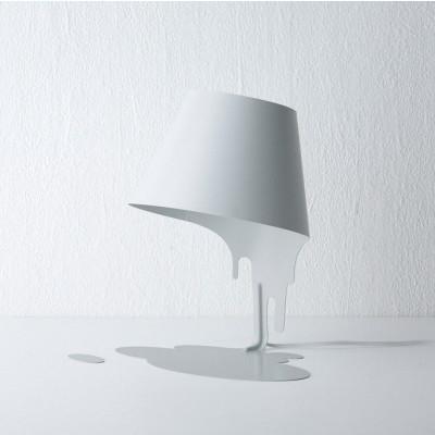 Liquid Table Lampenschirm Weiß