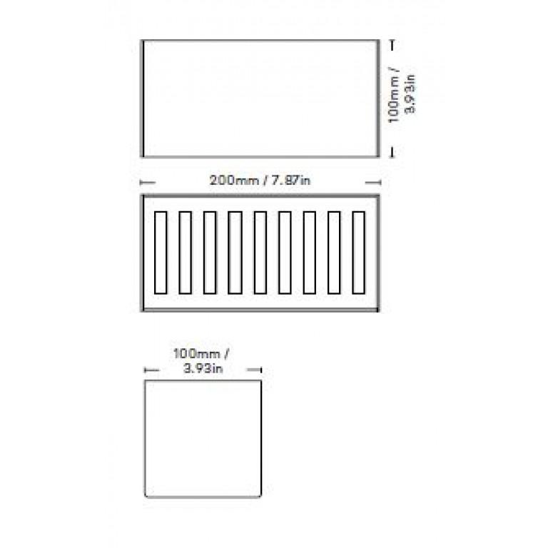 Étagère de Rangement Bath Shelf 20 cm | Blanc