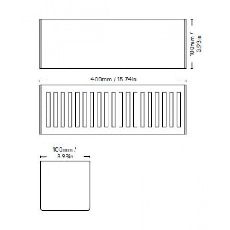 Étagère de Rangement Bath Shelf 40 cm | Noir