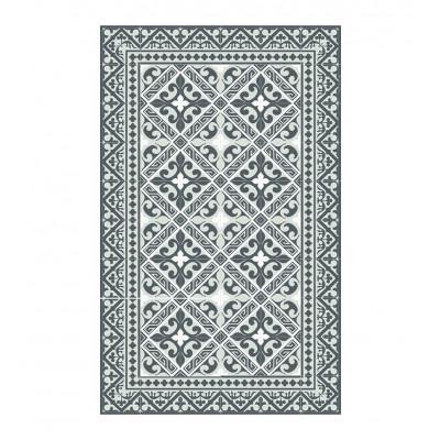 Vinyl-Fußbodenmatte Flor de Lis