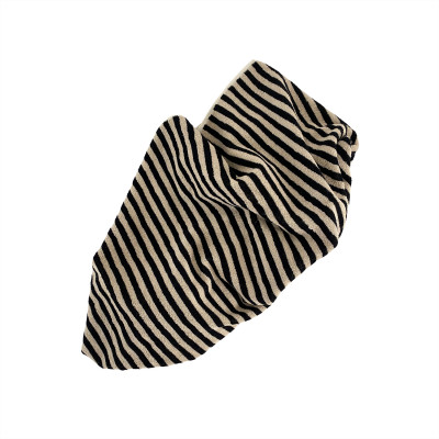 Handtuch Raita | Lehm + Schwarz Small