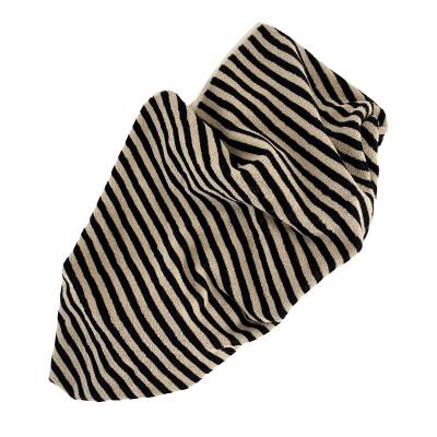 Handtuch Raita | Lehm + Schwarz Medium