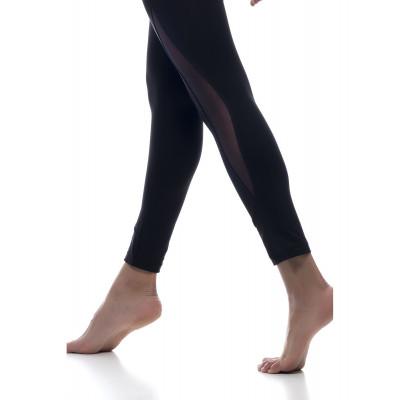 Sport Legging Yoga Crossfit   Schwarz